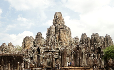 Angkor Bayon, le temple aux multiples visages, Cambodge -- 20/04/14
