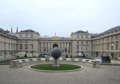 L'Assemblée Nationale au Palais Bourbon, Paris