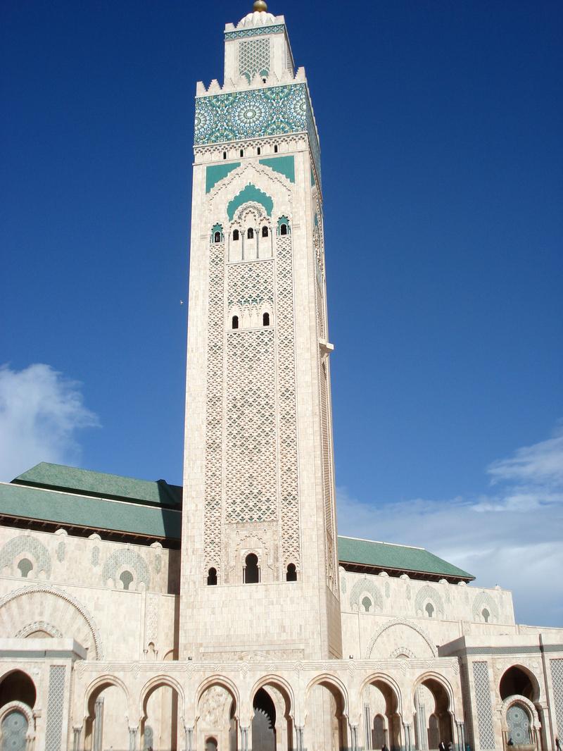 La mosqu e hassan ii casablanca au maroc for Mosquee hassan 2 architecture
