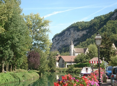 Chanaz, village pittoresque de Savoie