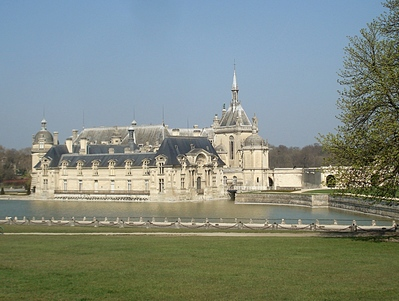 Chateau de Chantilly, Picardie -- 30/03/12