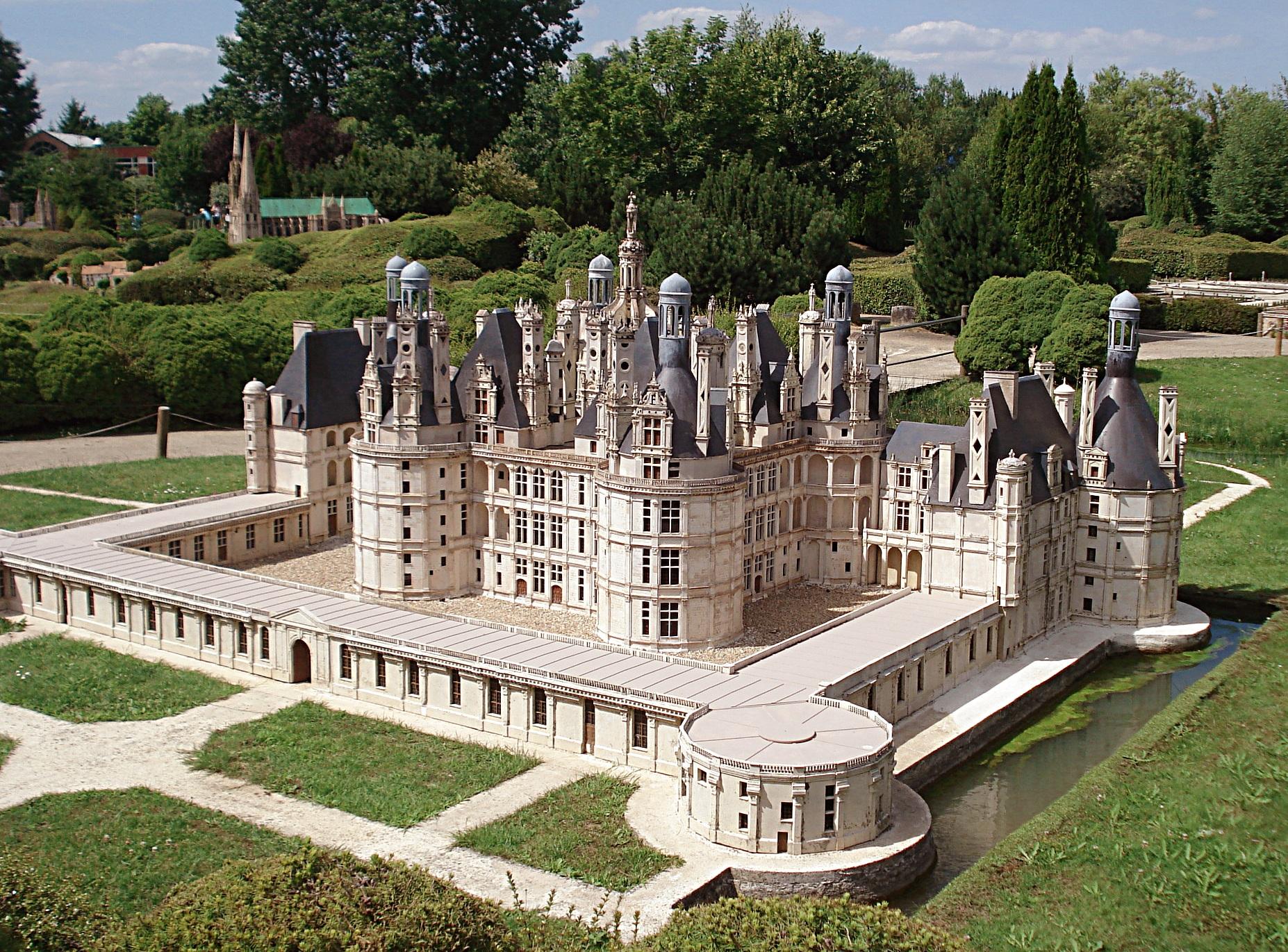 Parc de france miniature lancourt yvelines for Parc des yvelines