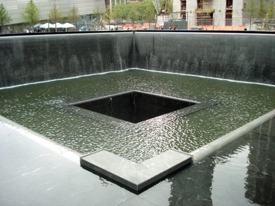 Ground 'Zero', le Mémorial du 11 Septembre, New-York -- 28/05/12