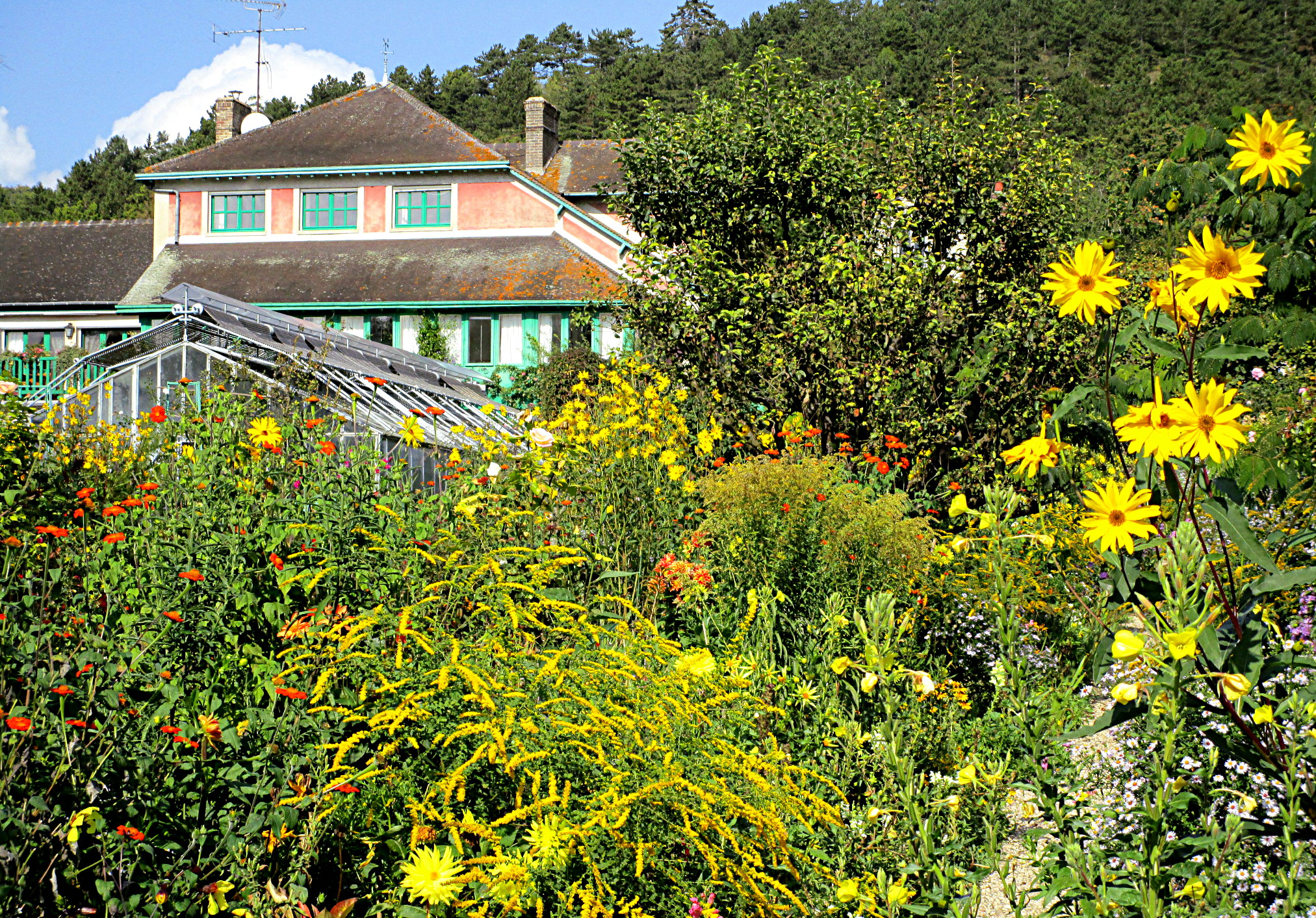La maison de Claude Monet et son jardin  Giverny