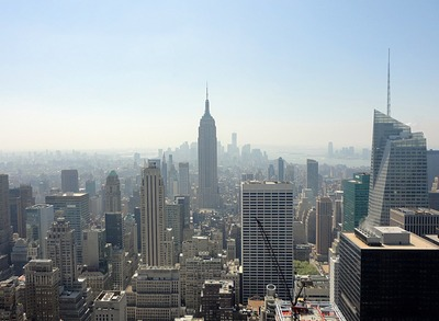 Manhattan vue du Top of the Rock, New-York