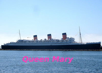 Visite du Queen Mary à Long Beach, Californie -- 15/08/13