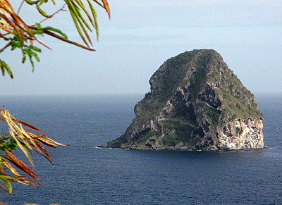 Le Rocher du Diamant en Martinique -- 27/07/14