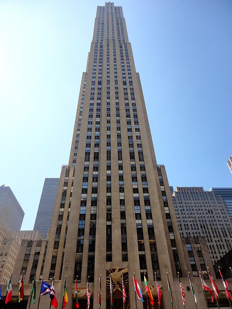 Manhattan vue du top of the rock new york for Building sans fenetre new york