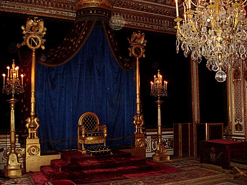 Chateau de fontainebleau - Salle du trone versailles ...