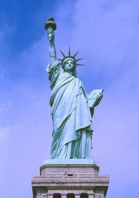 Statue de la Libert�, New-York, USA