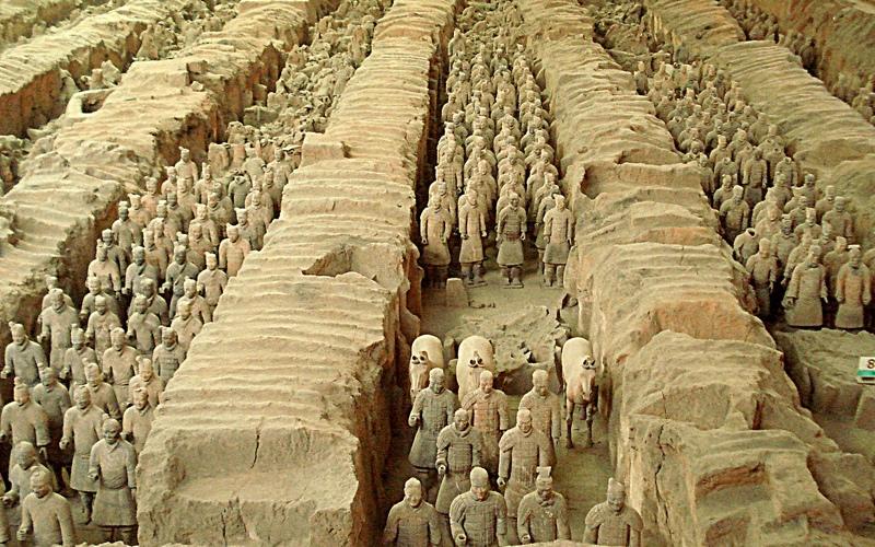 armee-des-soldats-de-xian-chine
