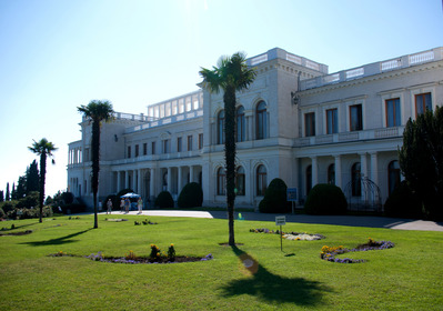 Livadia, le Palais des accords de Yalta, Crimée -- 19/01/13