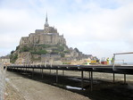 Les travaux du Mont Saint-Michel avancent ! -- 08/06/14