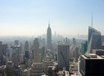 Manhattan vue du Top of the Rock, New-York -- 08/06/12