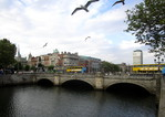 O'Connell bridge in Dublin -- 03/07/15