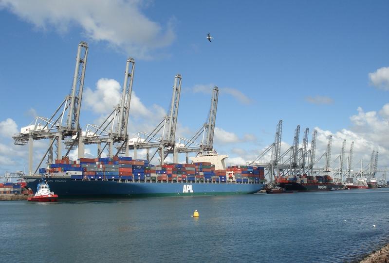 Rotterdam le plus grand port d 39 europe - Le plus grand port en afrique ...